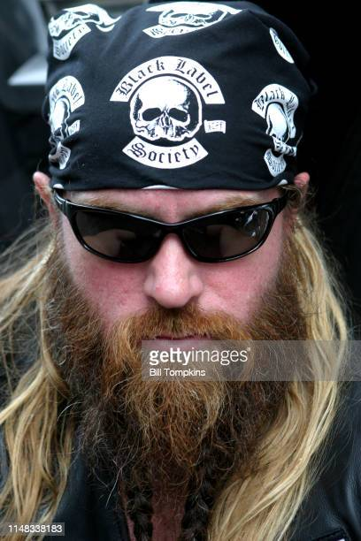 July, 19 200}: MANDATORY CREDIT Bill Tompkins/Getty Images Zakk Wylde, lead guitarist of the ozzy Osbourne band and Black Label Society photogrpahed...
