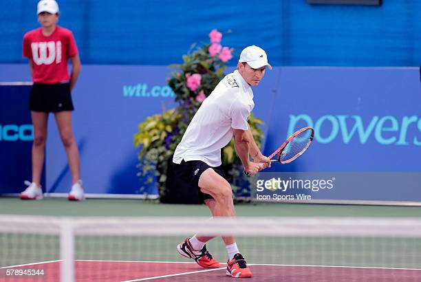 Boston Lobsters Rik de Voest The Washington Kastles defeated the Boston Lobsters 238 in a World Team Tennis match at Boston Lobsters Tennis Center at...