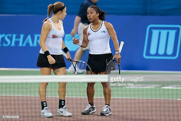 Boston Lobsters Sharon Fichman and Boston Lobsters Megan MoultonLevy in women's doubles The Washington Kastles defeated the Boston Lobsters 238 in a...