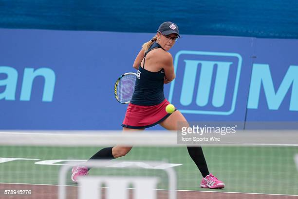 Washington Kastles Anastasia Rodionova The Washington Kastles defeated the Boston Lobsters 238 in a World Team Tennis match at Boston Lobsters Tennis...