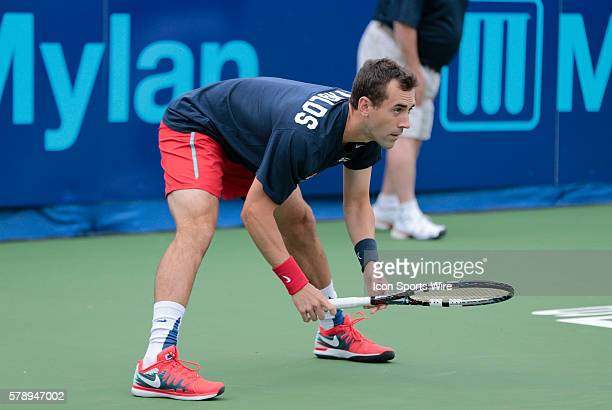 Washington Kastles Bobby Reynolds gets ready to receive The Washington Kastles defeated the Boston Lobsters 239 in a World Team Tennis match at...