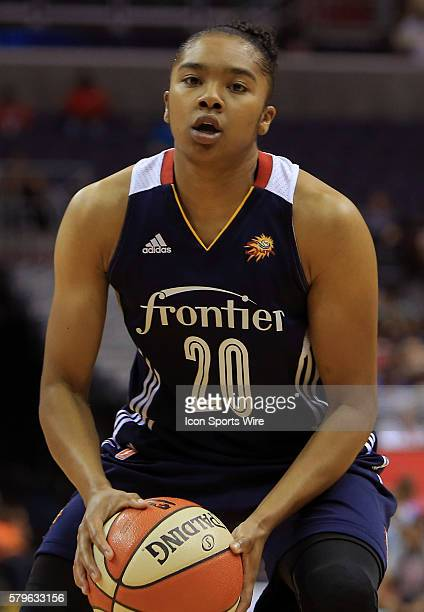 Alex Bentley of the Connecticut Sun during a WNBA game against the Washington Mystics at Verizon Center in Washington DC Mystics won 8982