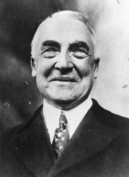 Warren Gamaliel Harding , the 29th American President,...
