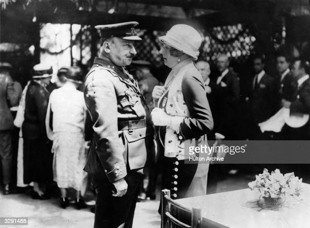 General Miguel Primo de Rivera the soldier and statesman who established the Directory to govern Spain under King Alfonso XIII and Queen Victoria...