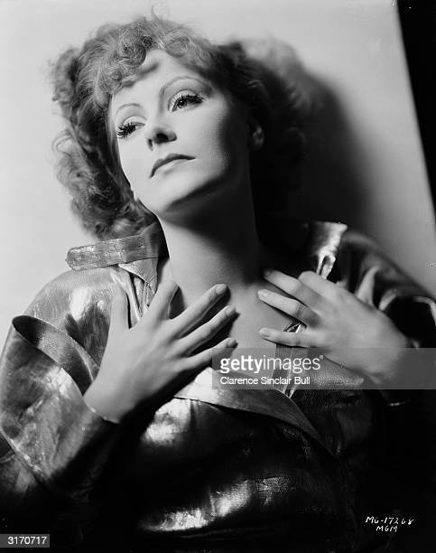 Swedish born actress Greta Garbo as the star of 'Susan Lenox: Her Fall And Rise' , directed by Robert Z Leonard.