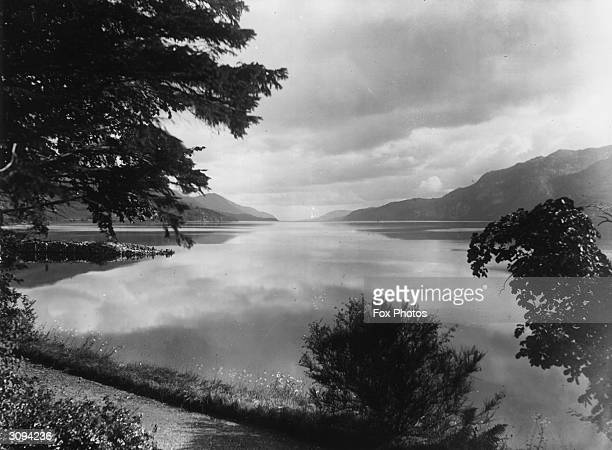 One of the largest of the Scottish lochs and home of the Loch Ness monster Loch Ness in the Great Glen