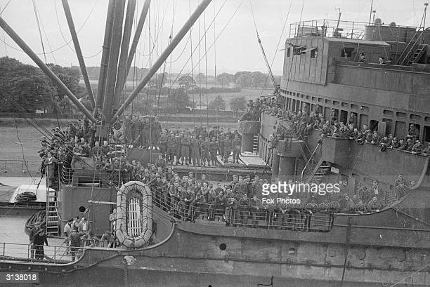 British troops are evacuated from Brest