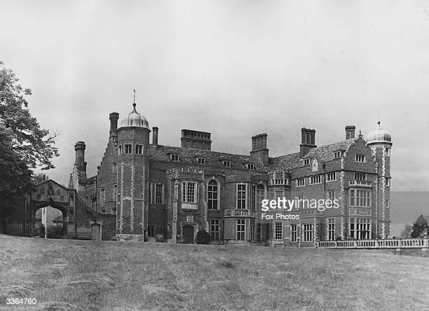 Madingley Hall near Cambridge in Cambridgeshire