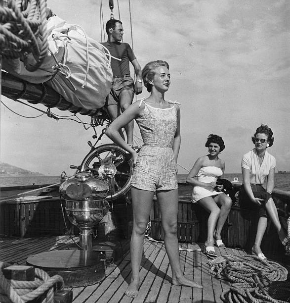 Models On A Boat