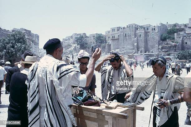 July 1967 after the 'Six Day War' Israel tripled its surface area On the Temple Mount in Jerusalem to cover the faithful to go to the Wailing Wall