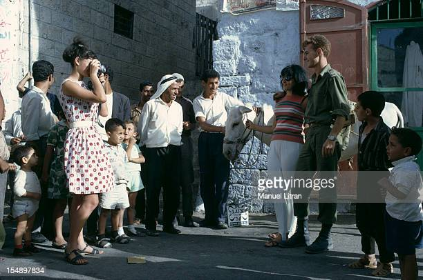 July 1967 after the 'Six Day War' Israel tripled its surface area The new frontier of the Hebrew state In Jerusalem in the old town an Israeli...
