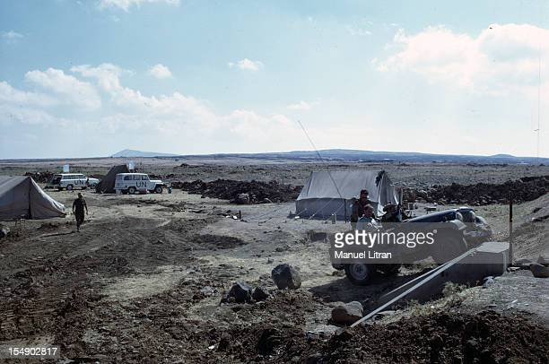 July 1967 after the 'Six Day War' Israel tripled its surface area The new frontier of the Hebrew state On the line of ceasefire UN observers