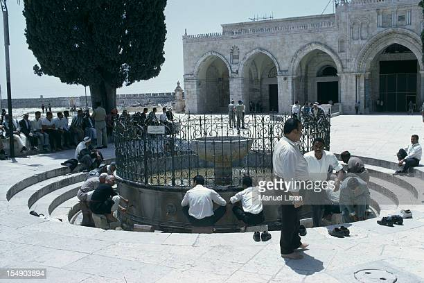 July 1967 after the 'Six Day War' Israel tripled its surface area The new frontier of the Hebrew state In Jerusalem the Temple Mount the ablutions...