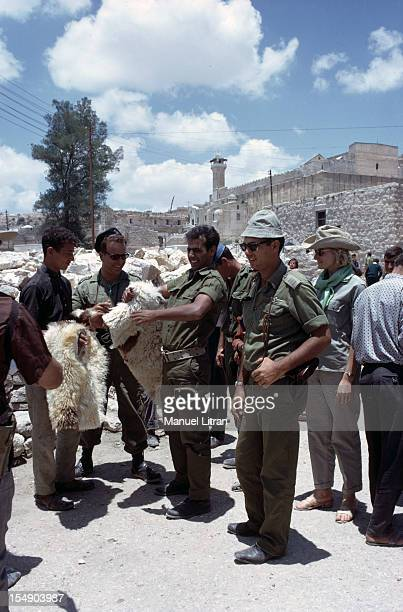 July 1967 after the 'Six Day War' Israel tripled its surface area The new frontier of the Hebrew state In the Old City of Jerusalem the Israeli...