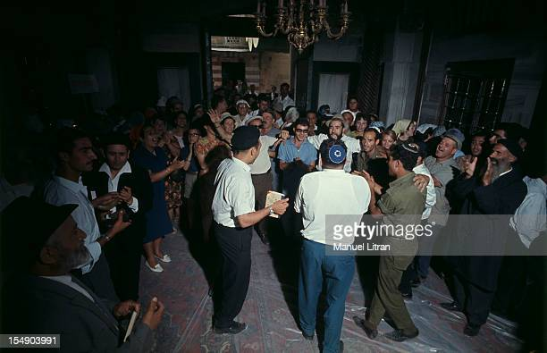 July 1967 after the 'Six Day War' Israel tripled its surface area The new frontier of the Hebrew state In Hebron West Bank sacred city the Horva...