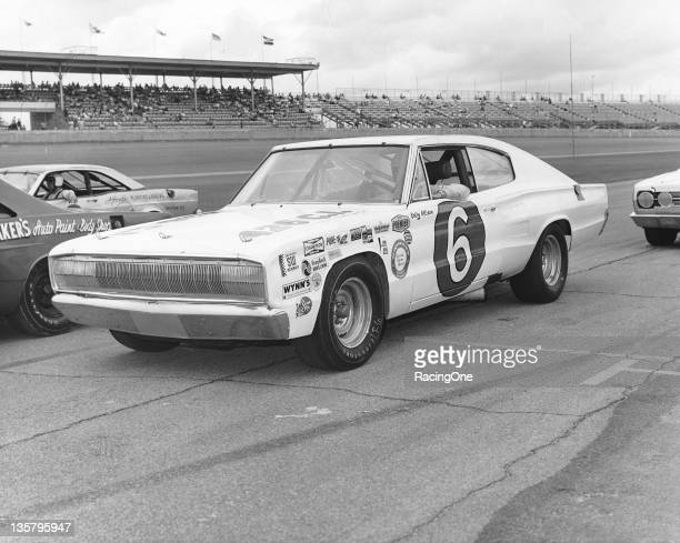 Bobby Allison drove this Dodge Charger in the Firecracker 400 NASCAR Cup race at Daytona International Speedway for car owner Cotton Owens Allison...