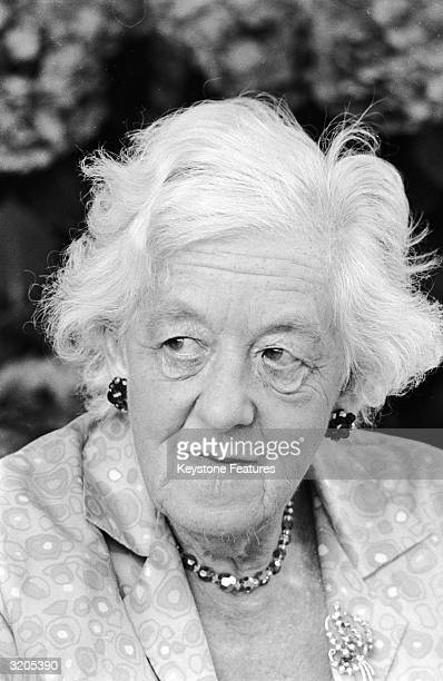 Film actress Dame Margaret Rutherford in Rome where she is filming the comedy 'Arabella'