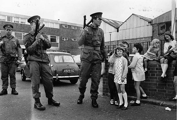 GBR: 3rd July 1970: 50th Anniversary of The Troubles - Falls Road Curfew