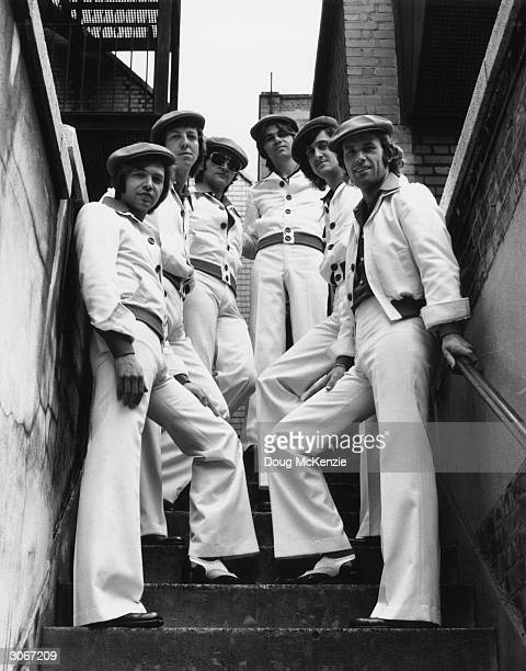 The Rubettes a group of session musicians who were formed to sing 'Sugar Baby Love' which topped the UK charts