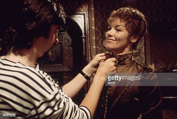 British actress Glenda Jackson plays Hedda Gabler in Ibsen's 'Hedda' directed by the Royal Shakespeare Company's Artistic Director Trevor Nunn