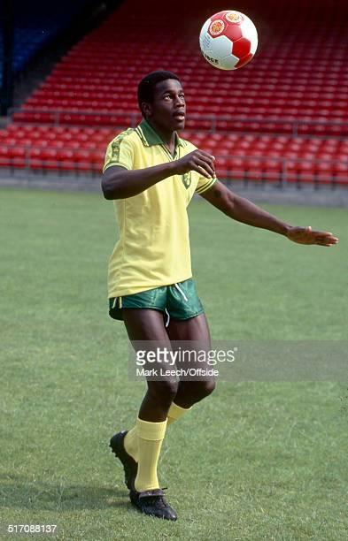 27 July 1979 Justin Fashanu of Norwich City