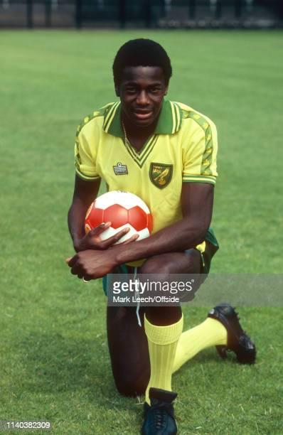 27 July 1979 Norwich City Photocall Norwich Justin Fashanu of Norwich