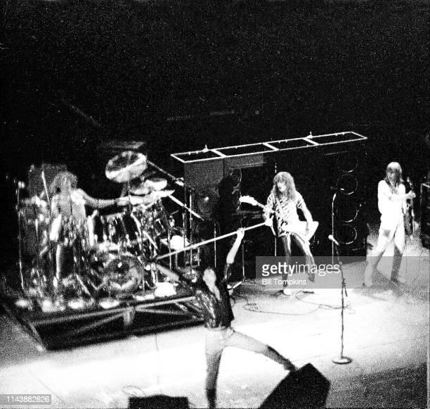 July 1981 ]: Def Leppard performs July 1981 in Philadelphia.