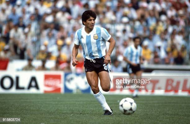 FIFA World Cup Argentina v Brazil Luis Galvan of Argentina