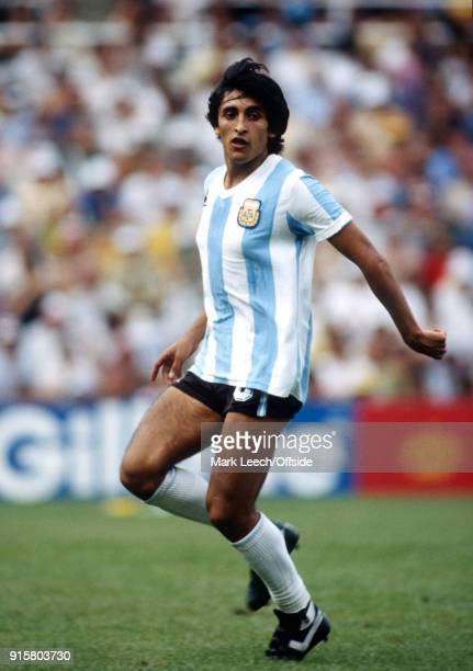 FIFA World Cup Argentina v Brazil Ramon Diaz of Argentina