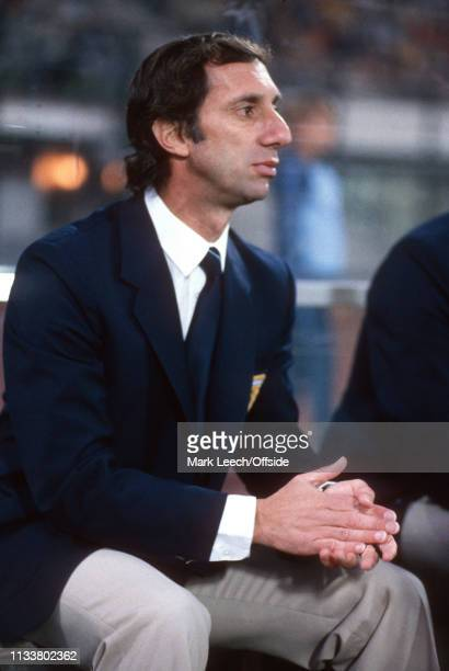 3 July 1990 Argentina v Italy FIFA World Cup SemiFinal Stadio San Paolo Carlos Bilardo Argentina manager