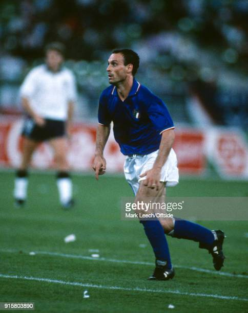 07 July 1990 Bari FIFA World Cup third place match Italy v England Salvatore Schillaci of Italy