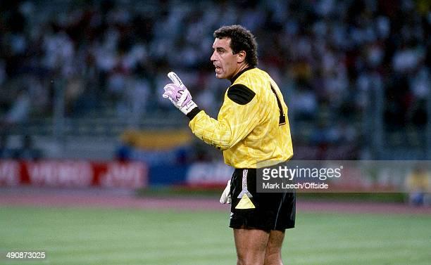 04 July 1990 Football World Cup 1990 England v West Germany England Goalkeeper Peter Shilton