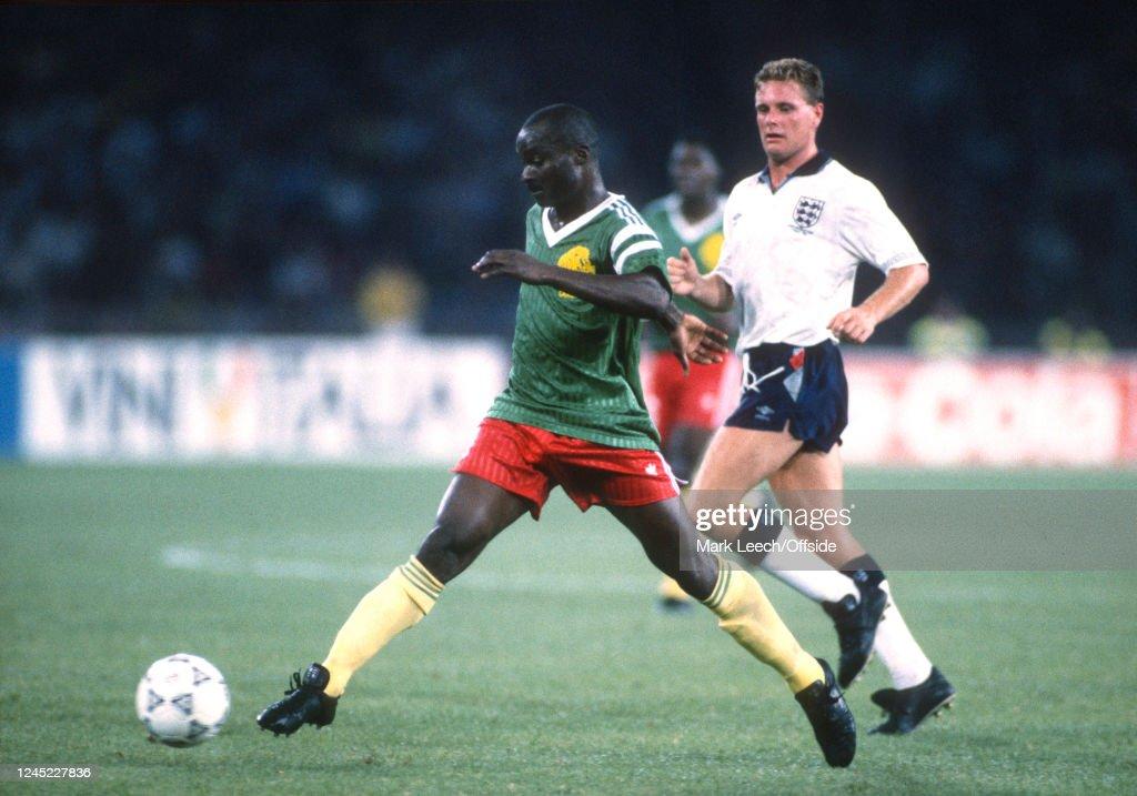 England v Cameroon : News Photo
