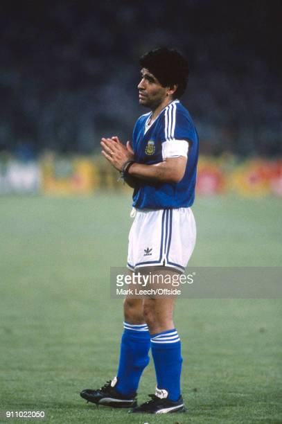 FIFA World Cup Final Argentina v West Germany Diego Maradona of Argentina