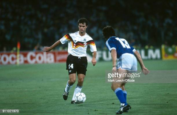 FIFA World Cup Final Argentina v West Germany Thomas Berthold of Germany