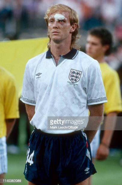 4 July 1990 West Germany v England FIFA World Cup SemiFinal Stadio delle Alpi Mark Wright of England 4 July 1990 West Germany v England FIFA World...