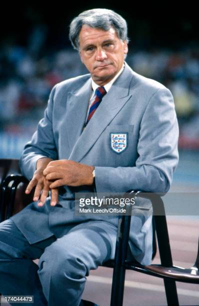 04 July 1990 World Cup England v West Germany England manager Bobby Robson