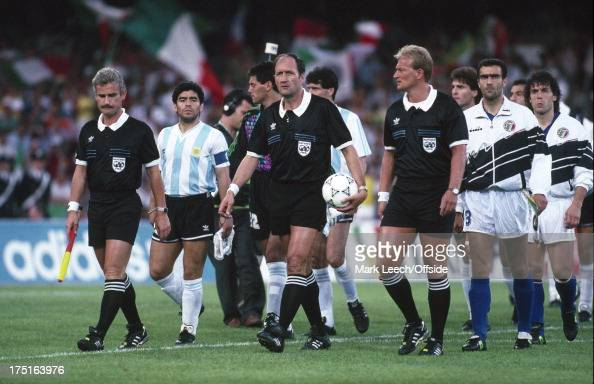 03 July 1990 World Cup Football semi-final - Argentina v Italy -... News Photo   Getty Images
