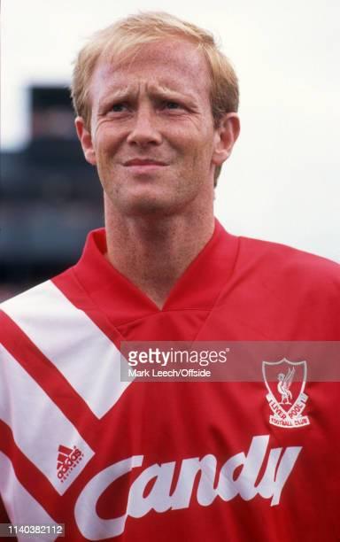 23 July 1991 Dundalk v Liverpool Preseason Friendly Dundalk Mark Wright of Liverpool
