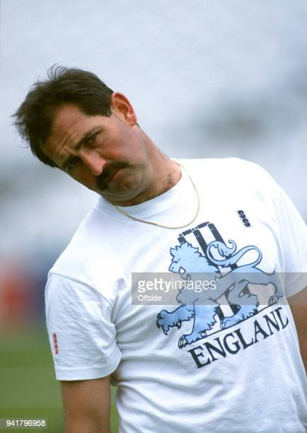 3 July 1991 Nottingham England Cricket Nets Graham Gooch