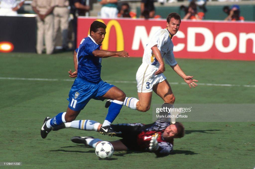 Image result for brazil sweden 1994 semi final