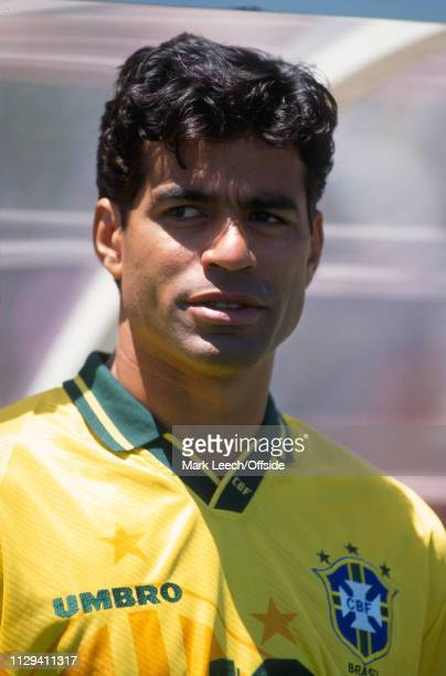 4 July 1994 FIFA World Cup Stanford Brazil v USA Rai of Brazil