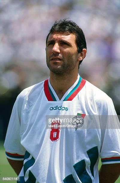 16 July 1994 FIFA World Cup Sweden v Bulgaria Hristo Stoitchkov of Bulgaria