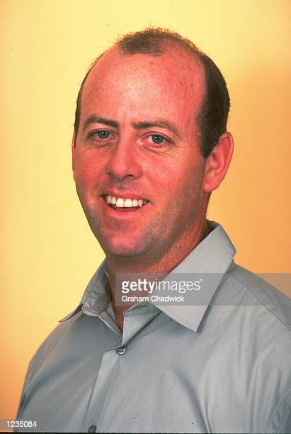 Portrait of Channel Four cricket analyst Simon Hughes taken at Lords in London, England. \ Mandatory Credit: Graham Chadwick /Allsport