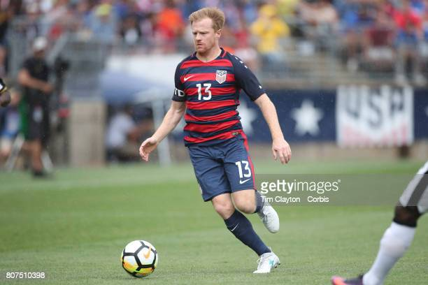 Dax McCarty of the United States in action during the United States Vs Ghana International Soccer Friendly Match at Pratt Whitney Stadium on July 1st...