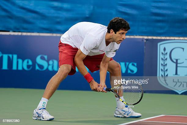 Philadelphia Freedoms Marcelo Melo The Boston Lobsters met the Philadelphia Freedoms in a World Team Tennis match at Boston Lobsters Tennis Center at...