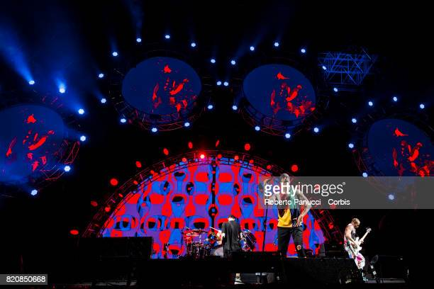 Red Hot Chili Pappers perform in concert on July 20 2017 in Rome Italy