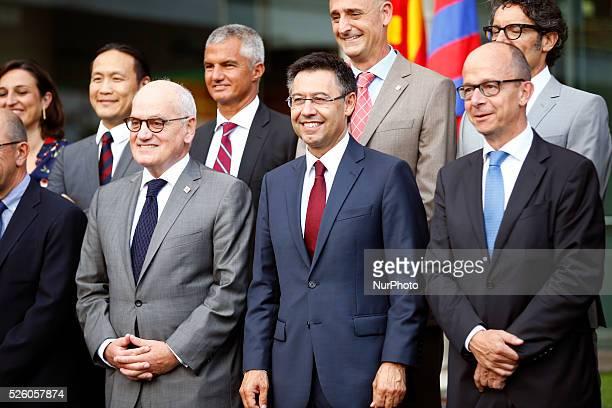 july 20 SPAIN transfer of power FC Barcelona and new president Josep Maria Bartomeu proclamation on july 20 2015 Photo Joan...