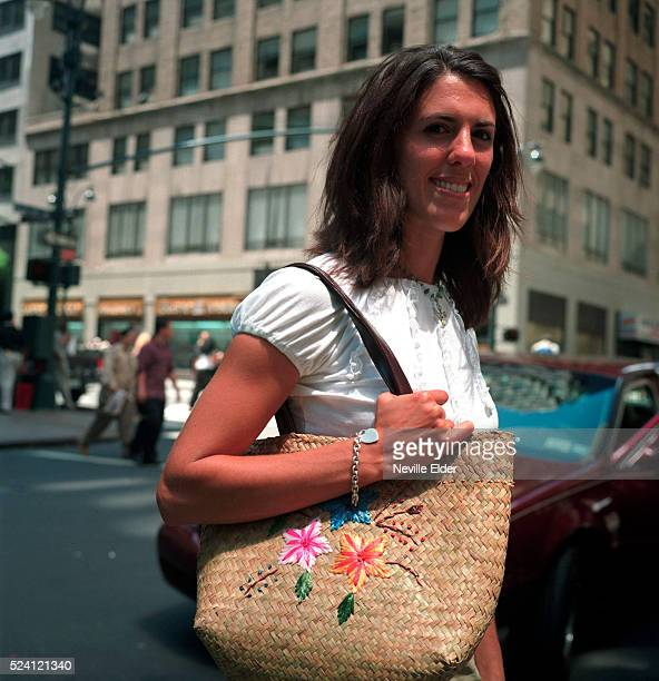 Julie McDermott of New Jersey on Lexington Avenue McDermott appeared in the famous photograph escaping from the terrorist attacks on the World Trade...
