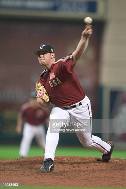 Bill Murphy of the USA against the World team during the Major League Baseball Futures Game at Minute Maid Park on July 11, 2004 in Houston, Texas.